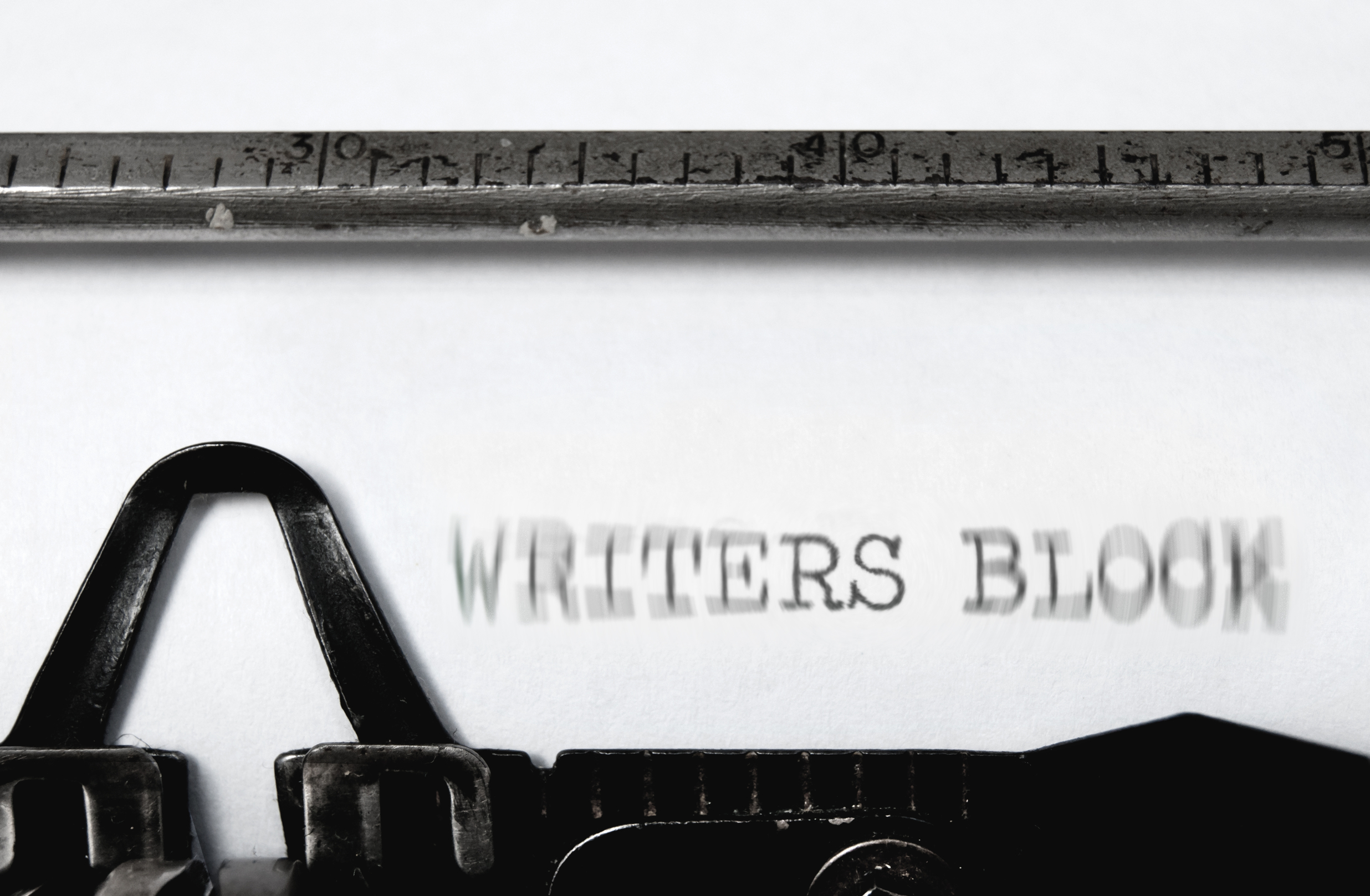 OVERCOME CREATIVE WRITING BLOCKS